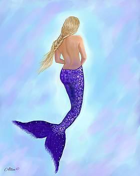 Mermaid Amethyst by Leslie Allen