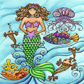 Mermaid and Friends by Holly Kitaura