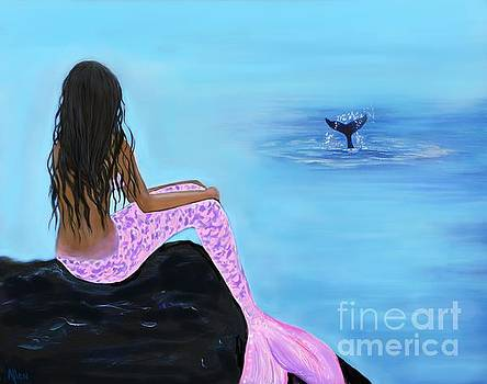 Mermaid And The Whale by Leslie Allen