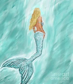 Mermaid Aquamarine by Leslie Allen