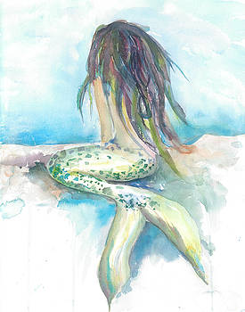 Mermaid Dreaming by Joyce Casey