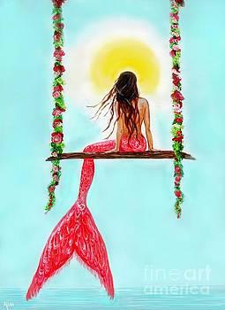 Mermaid Gypsy Hangout by Leslie Allen