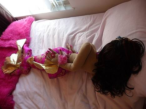Mermaid in Bed by Cassandra George Sturges