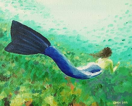 Mermaid in the Sea by Glenn Harden