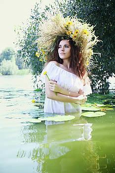 mermaid in the water by Iuliia Malivanchuk by Iuliia Malivanchuk