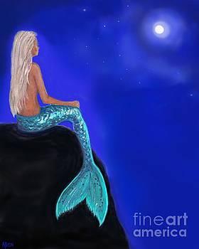 Mermaid Moon Watch by Leslie Allen