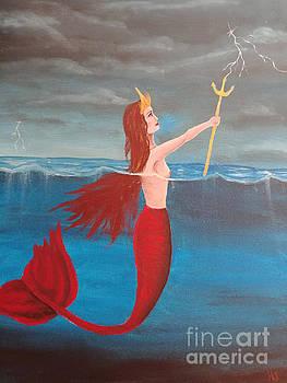 Mermaid queen by Heather James