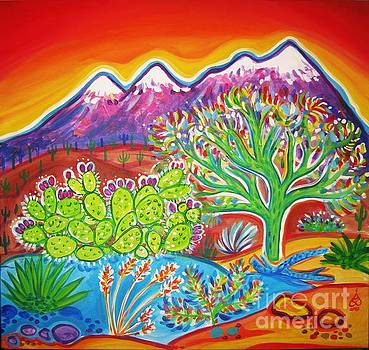 Four Peaks Glow by Rachel Houseman
