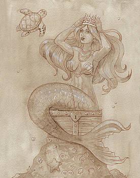 Mermaid Treasure by Dream Pigment