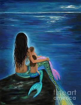 Mermaids Baby GIrls by Leslie Allen