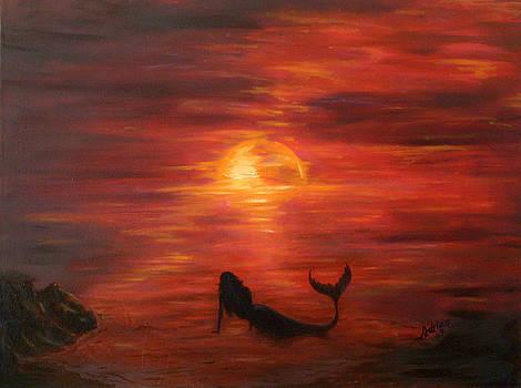 Mermaid's Longing by Adrian Olteanu