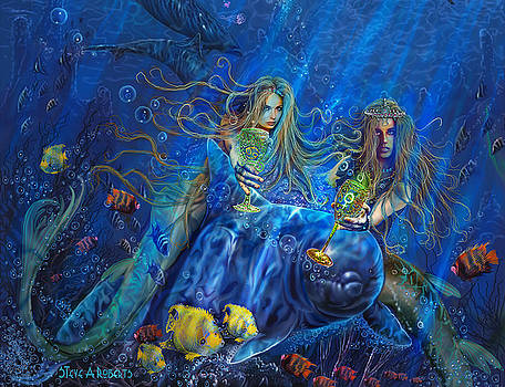 Mermaids Of Acqualainia by Steve Roberts