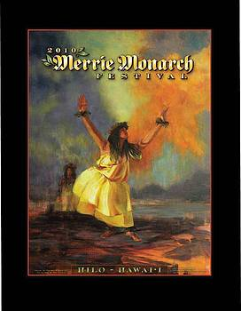 Merrie Monarch Poster - 2010 by Rod Cameron