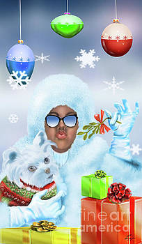 Merry Christmas and Kisses by Reggie Duffie