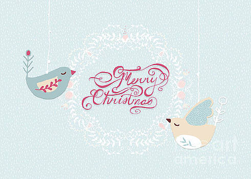 Merry Christmas Birdies by Pam  Holdsworth