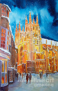 Merry Christmas Canterbury by Beatrice Cloake
