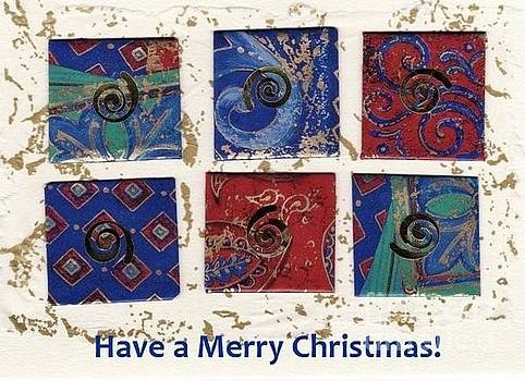 Merry Christmas Card by Susan Minier