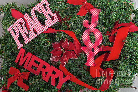 Merry Christmas Decorations by Diane Macdonald
