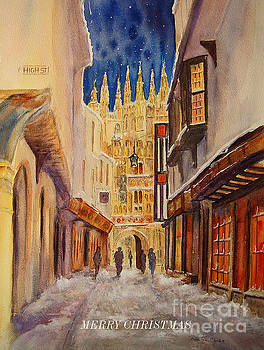 Merry Christmas from Canterbury by Beatrice Cloake