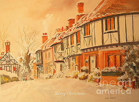 Merry Christmas from Chilham by Beatrice Cloake