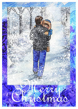 Irina Sztukowski - Merry Christmas From Daddy And Son