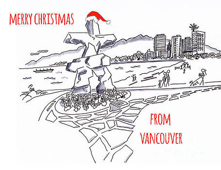 Merry Christmas from Vancouver by Nancy Harrison
