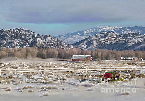 Merry Christmas from Wyoming by Dawn Senior-Trask
