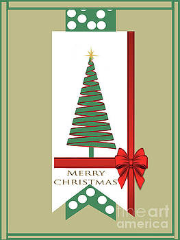 Merry Christmas Greeting Card  by L Wright