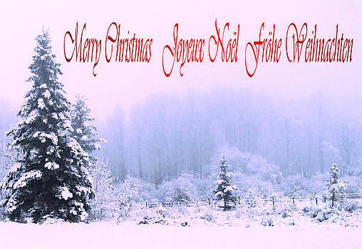 Marianne NANA Betts - Merry Christmas  Joyeux Noel