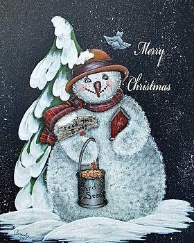 Cindy Treger - Merry Christmas Snowman