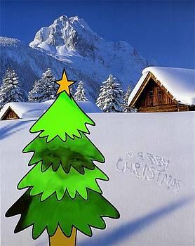 Merry christmas by Gyorgy Szilagyi