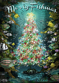 Merry Fishmas by Roz Paterson