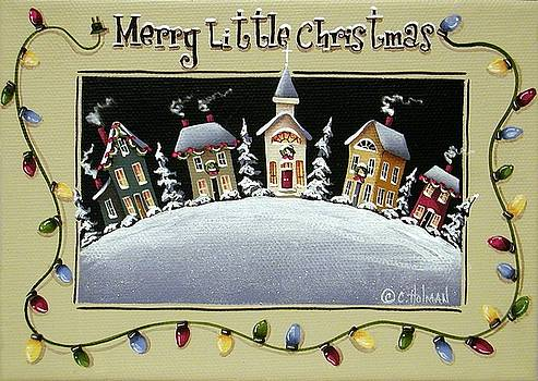 Merry Little Christmas Hill by Catherine Holman