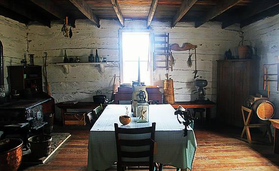 Mertz Cabin Interior by Christopher McKenzie