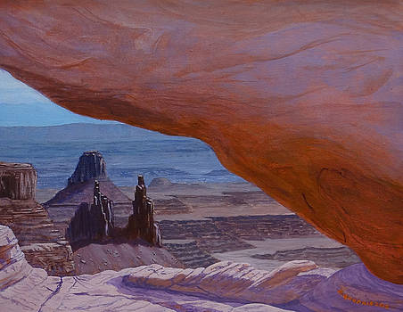 Mesa Arch by Doug Goodale