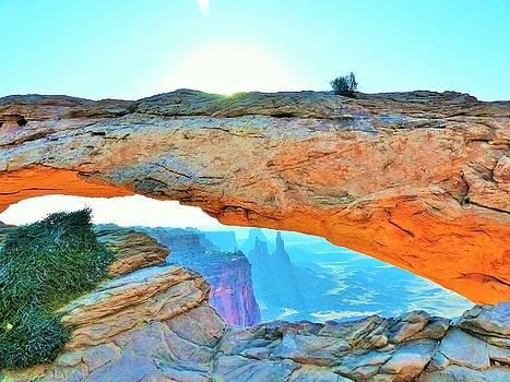 Mesa Arch Glow by Barkley Simpson