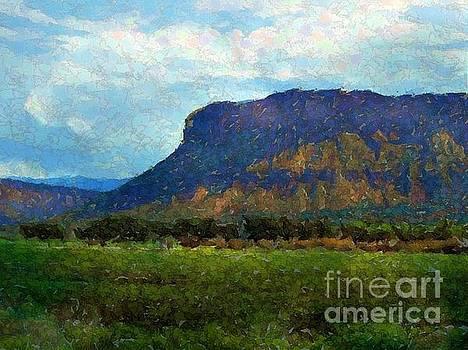Mesa in Paradox Valley Colorado by Annie Gibbons