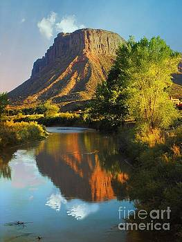 Mesa over Delores River by Annie Gibbons