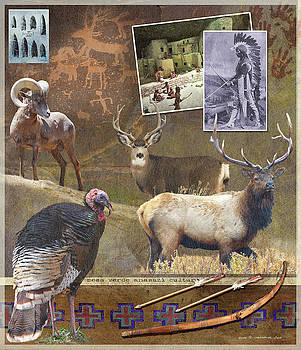 Mesa Verde Wildlife  by R christopher Vest
