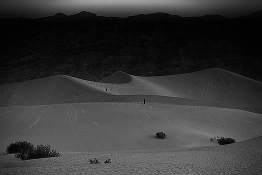 Mesquite Flat Sunrise by Gej Jones