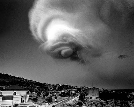 Message From Above Soverato Italy by Gregory Varano