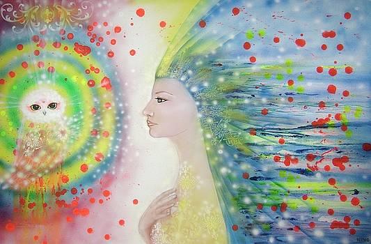 Messenger of Hope  by Nino Gabashvili