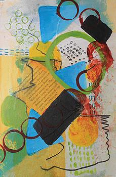 Messy Circles of Life by April Burton