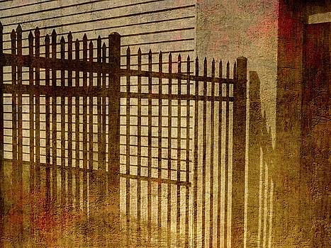 Metal Gate in Athens Greece by Mike McCool