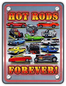 Metal Hot Rods Forever by K Scott Teeters