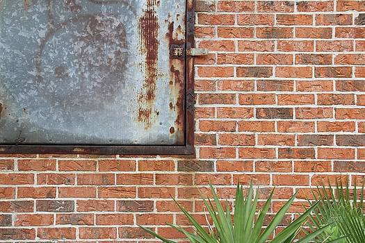 Metal, Rust and Brick by Russell Owens