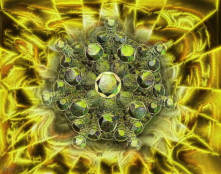 Metal Seedburst by Bad Monkey