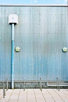 Metal wall by Tom Gowanlock