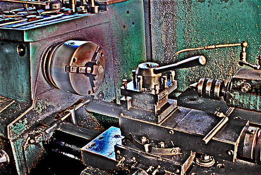 Metal working by Tony Reddington