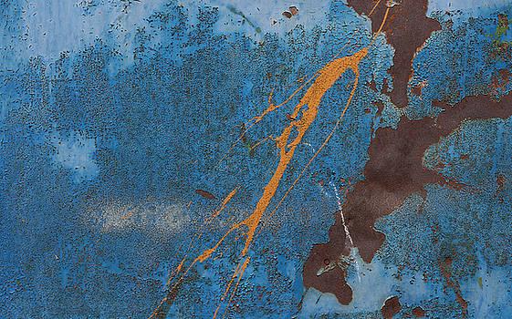 Metallic Abstraction by Csaba Molnar